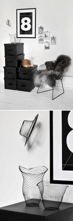 diamond chair,air vase & hat