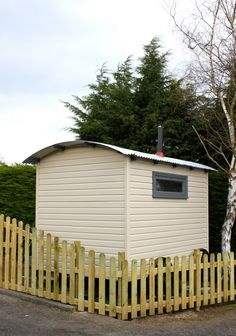 We create your shepherd's hut to compliment you environment