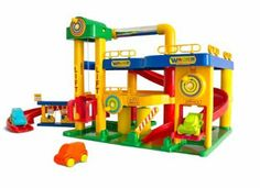 Wader Quality Toys 05080 - Garage No.1 mit Autos: Amazon.de: Spielzeug