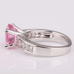 Swarovski Pink Diamond Ring