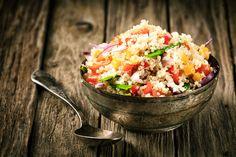 Vegetarischer Quinoa-Salat