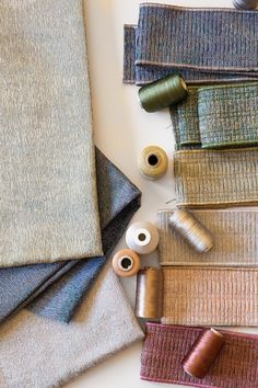 Learn what inspired Lori Weitzner's Encore collection for Samuel & Sons and gain insight into the creative process, colors and construction of her sophisticated, pleated borders. Samuel And Sons, Passementerie, Color Trends, Gain, Insight, Metallic, Diy Projects, Construction, Collections
