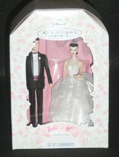 Hallmark Keepsake Christmas Ornament 1997 Ken and Barbie Wedding Day QXI6815 NEW by DiscountFigurines on Etsy