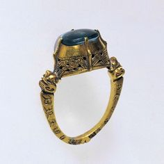 14th century engraved ring.