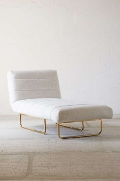 Relax and unwind in this super chic chaise.