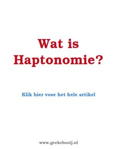 filmpje over Haptonomie