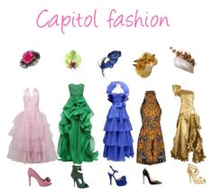 """""""Capitol fashion"""" by sparkywolf ❤ liked on Polyvore featuring Reem Acra, Jean-Louis Scherrer, Alexander McQueen, Christian Lacroix, Nana', MICHAEL Michael Kors, Christian Louboutin, Betsey Johnson, Max Studio and women's clothing"""