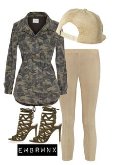 """""""camo"""" by emmabrownfashion on Polyvore featuring Michael Kors, Velvet by Graham & Spencer, River Island, VonZipper, women's clothing, women, female, woman, misses and juniors"""