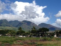 Maui mountains
