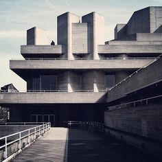 #London National Theatre #architecture