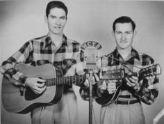 Jim and Jesse in the early, early years on their road to fame (photo courtesy of JimandJesse.com)