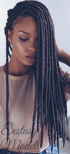 Beautiful Braids by @umonahair // Model:  olaj_arel