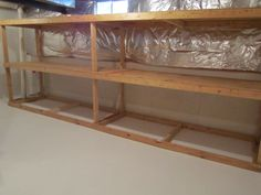 Basement Storage Ideas | Basement Storage Room Makeover