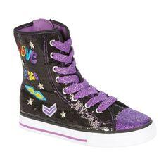 BongoGirl's Sparkle Canvas Hi-Top Leila Purple girls kids sizes 12, 4 NEW  24.99 http://www.ebay.com/itm/BongoGirls-Sparkle-Canvas-Hi-Top-Leila-Purple-girls-kids-sizes-12-4-NEW-/251517097782?pt=US_Childrens_Shoes&var=&hash=item8027ef907e