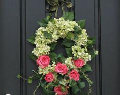 Sunflower Wreaths Berry Wreath Fall Decor by twoinspireyou