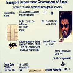Driving License..