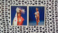 Barbie vintage 90s 1993 Panini Stickers Set of 2 Hollywood
