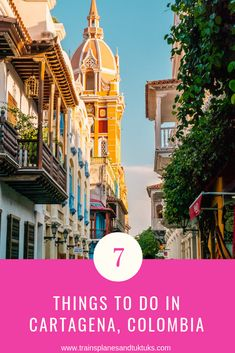 Are you planning on visiting Cartagena? This list of 7 things to do in Cartagena Colombia in one day covers the Old Town, street art in Getsemani,, and more. Visit Colombia, Colombia Travel, Brazil Travel, Peru Travel, Solo Travel, Latin Travel, Backpacking South America, South America Travel, Machu Picchu