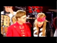 Awesome - If Freddie only knew the millions he touched... Queen - Elton John & Axl Rose - Bohemian Rhapsody - (Freddie Mercury Tri...
