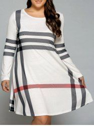 SHARE & Get it FREE | Plus Size Vertical Striped Comfy T-Shirt DressFor Fashion Lovers only:80,000+ Items • New Arrivals Daily • Affordable Casual to Chic for Every Occasion Join Sammydress: Get YOUR $50 NOW!