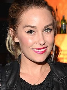 Lauren Conrad's winged liner is always on fleek.
