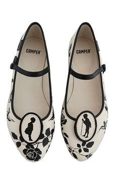 LOVE these! Cameo Mary Janes, $170 from Net-A-Porter