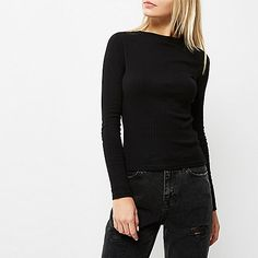 Ribbed jersey Fitted Turtleneck Long sleeve Buy 2 for £16/€20/$32/190KR