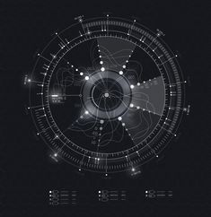 things(via Quantum HUD | Infographic Pack on Behance)