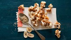 Banoffee popcorn crunch recipe : SBS Food