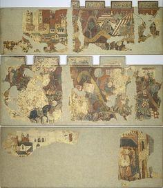 El MNAC aporta al Museu Ideal de Catalunya les 'Pintures murals de la conquesta de Mallorca', 1285-1290, que es troben en el mateix museu.
