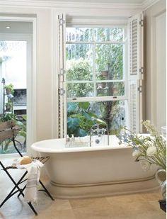 Relaxing bathroom/Ontspannende badkamer