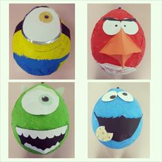 Cartoon pinatas