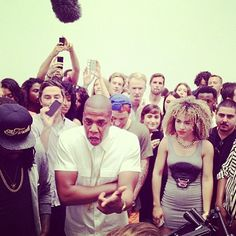 """Jay-Z does """"Picasso Baby"""" Performance Art at the Pace Gallery"""