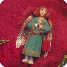 1996 Folk Art, Caroling Angel