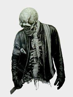 Rocker Skull - this is badass !!