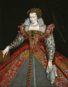 "Louise de Lorraine-Vaudémont ""the White Queen"" by François Clouet, ca 1570 France, MFA Houston. Louise was Queen consort of Henri III - no children."