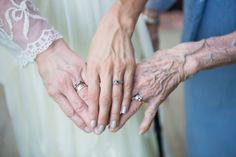 kimberly & blake / three generations of hands