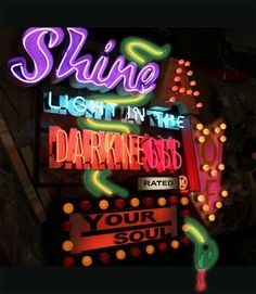 Upcycled Fairground Signs - The Latest Chris Bracey Collection Showcases His Neon Masterpieces (GALLERY)