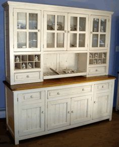 Beautiful I Love This Hutch So Much. It Would Go So Well In My Dream Beachy. Buffet  With HutchKitchen ...