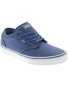 vans mens atwood shoe navy white