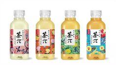 BIGBANG がキャラクターになった中国 Nongfu Spring 社の 「茶π」今までは コレだったけど・・・今日から新しいパッケージになったみたいBI…