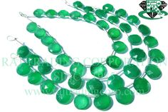 Green Onyx Beads In Coin Faceted Shape, (Quality AAA), 9 to mm, 18 cm, Semiprecious Gemstone Beads Semi Precious Beads, Semi Precious Gemstones, Bead Store, Green Onyx, Gemstone Beads, Craft Supplies, Unique Jewelry, Handmade Gifts, Shapes