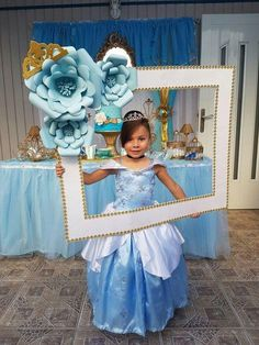 Gleeful rated quinceanera party decorations my company Disney Princess Birthday Party, Frozen Birthday Party, 4th Birthday Parties, Birthday Party Decorations, Girl Birthday, Party Themes, Party Ideas, Birthday Crowns, Party Favors