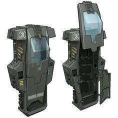 http://www.deviantart.com/art/HaloWars-UNSC-Cryostasis-Chamber-190039251