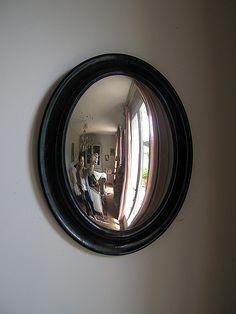 1000 images about miroirs oeil de sorci res on pinterest for Miroir bombe rond