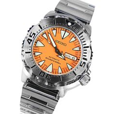 A-Watches.com - Seiko 5 automatic monster divers watch SRP309J1, $192.00 (http://www.a-watches.com/seiko-5-automatic-monster-divers-watch-srp309j1/)