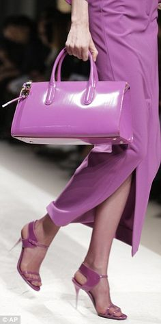 radiant orchid....Pantone color of the year 2014