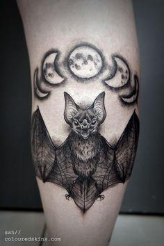 Holy shit I want this bat tattoo. | Beautiful Ink | Pinterest ...
