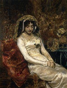 Antonio Muñoz Degrain - Before The Wedding,1882. Museo Nacional del Prado, Madrid.