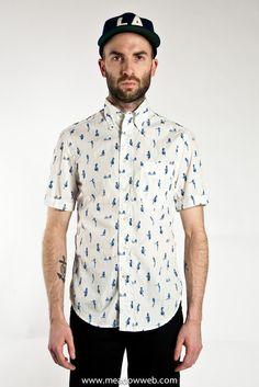 Gitman Vintage S/S Pinup Oxford Shirt